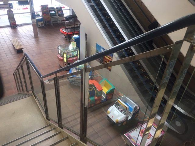 伊良湖のクリスタルポルトの一階のゲームセンター