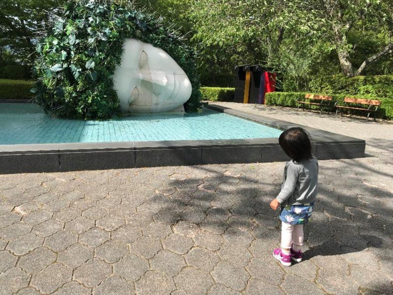 (嘆きの天使 フランソワ=ザビエ、クロード・ラランヌ(フランス) 1986年)箱根彫刻の森美術館