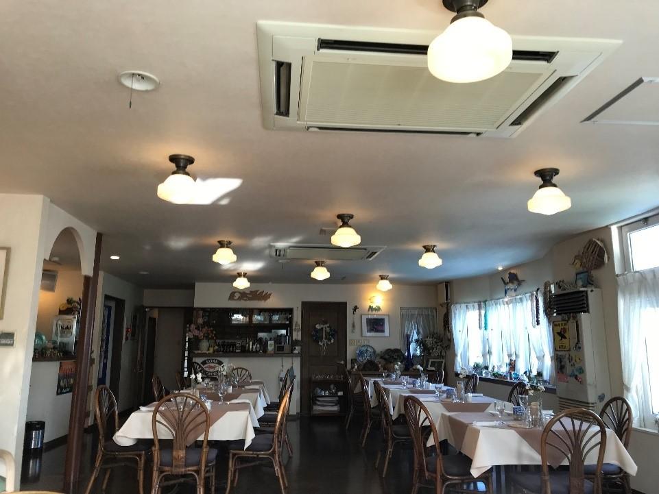ペンションマンダリンの食堂