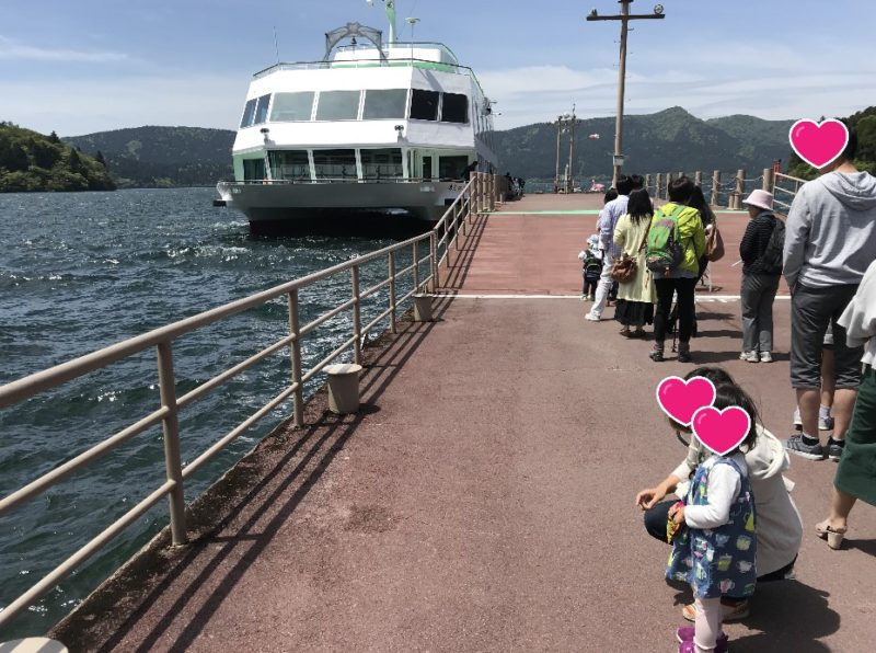 箱根遊覧船の乗り場