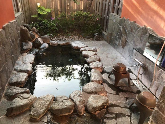ペンション「マンダリンハウス」の貸切風呂の写真