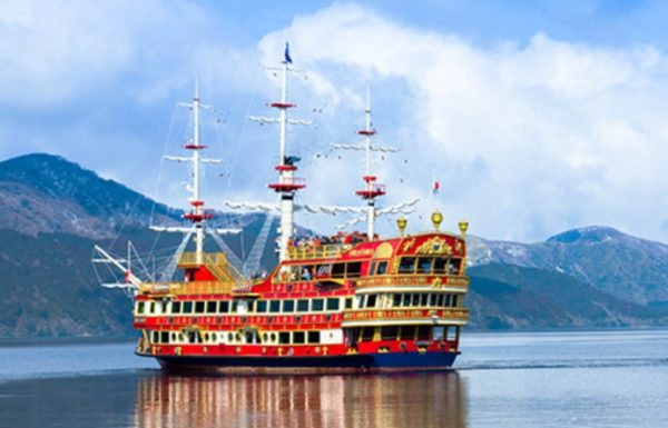 箱根遊覧船の海賊船