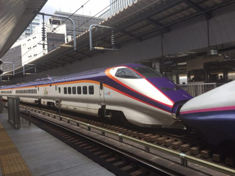 E3系つばさとE2系やまびこの連結(東京駅)