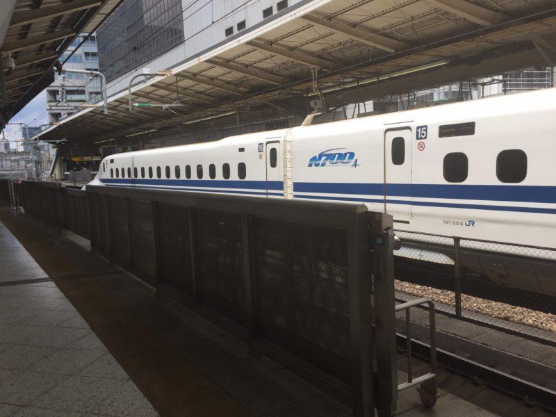 N700系(東京駅に停車)