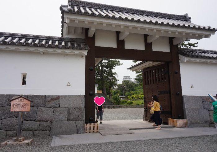 小田原城の正面入り口、馬出門