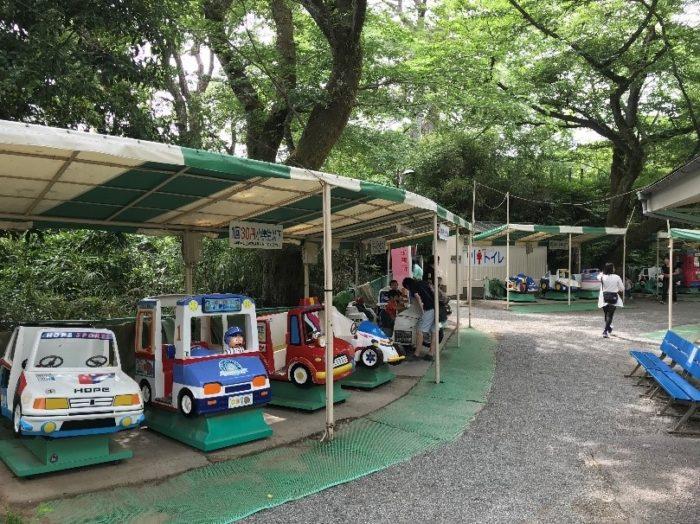 小田原城の子ども遊園地