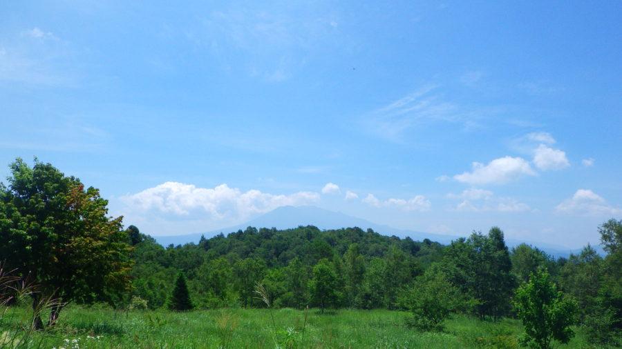 南乗鞍キャンプ場の景色