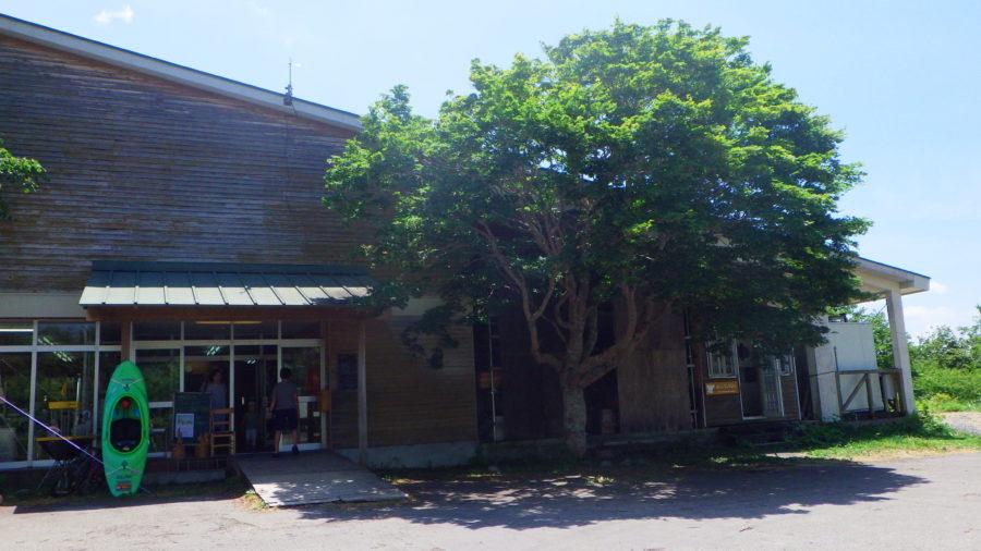 南乗鞍キャンプ場のセンターハウス