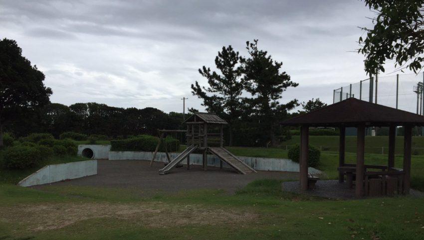 竜洋海洋公園の小さな公園