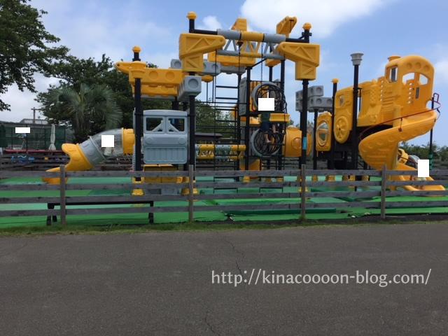 ぐらんぱる公園の幼児用アスレチックス広場