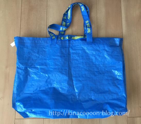 IKEAの買い物エコバッグ