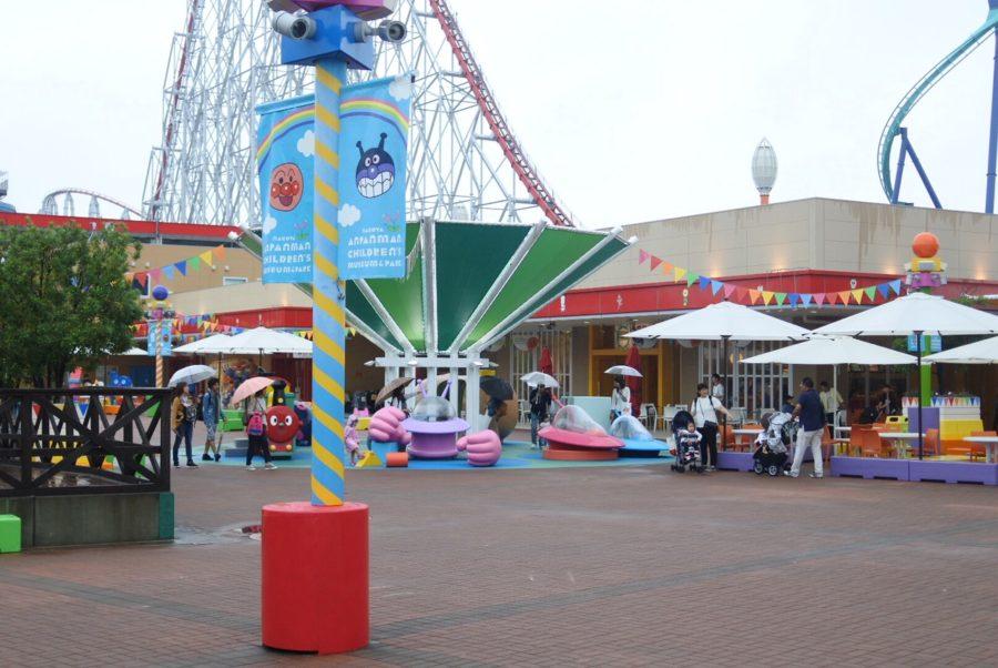雨の日の名古屋アンパンマンミュージアム