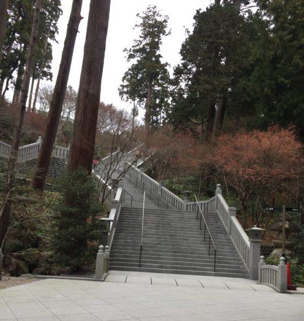 法多山の階段