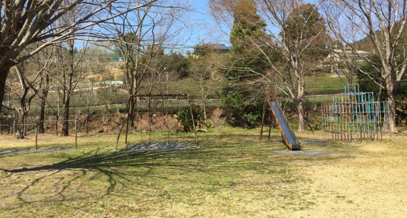 くのわき親水公園キャンプ場の遊具