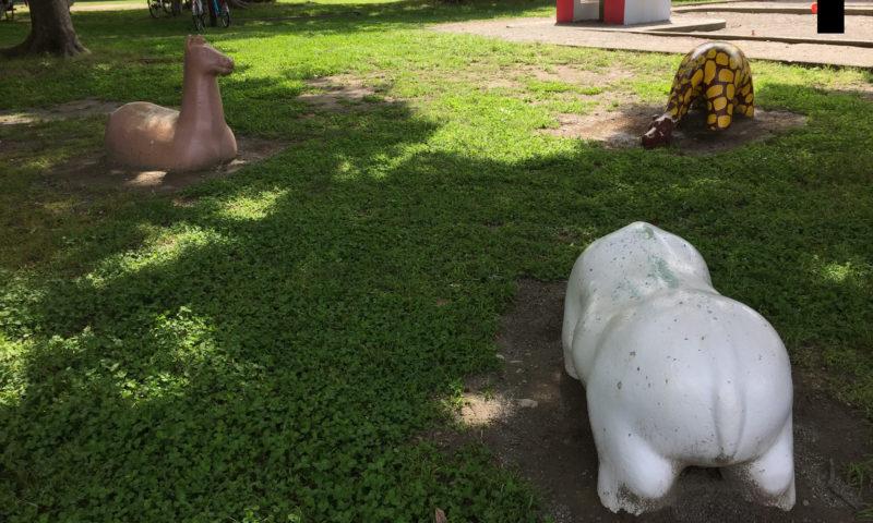 大蒲公園の動物たち