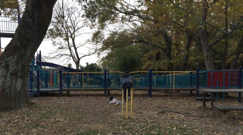 かぶと塚公園の遊具