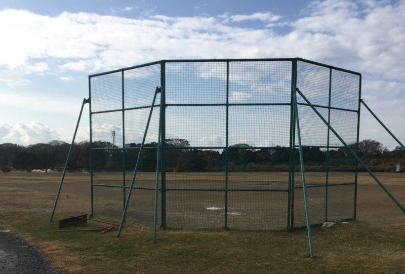 飯田公園の野球場