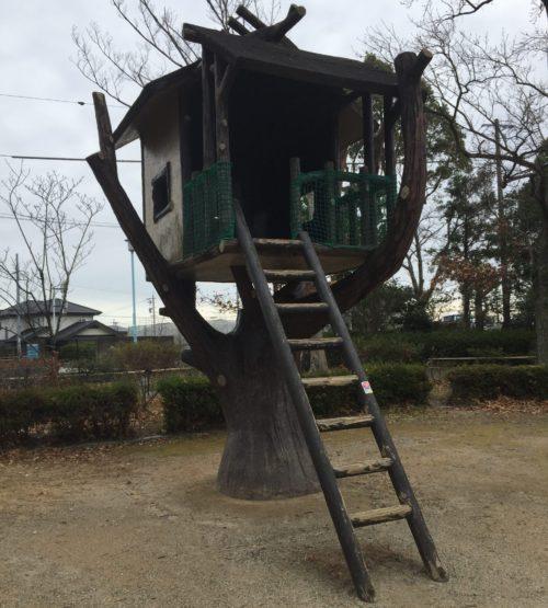 飯田公園のツリーハウス