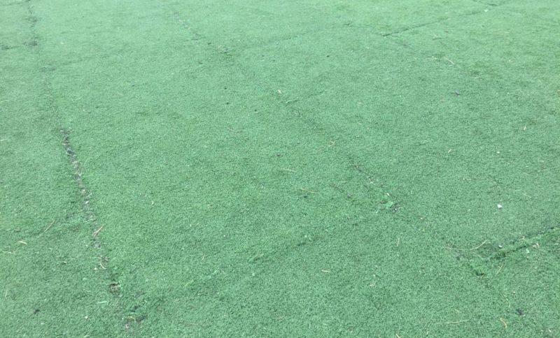 みつかわ夢の丘公園の多目的広場の人工芝