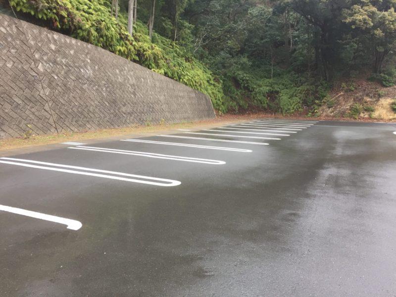 みつかわ夢の丘公園のおもいやり駐車場