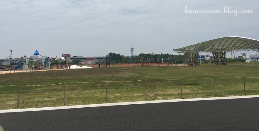 今之浦公園の東側エリアパノラマ写真