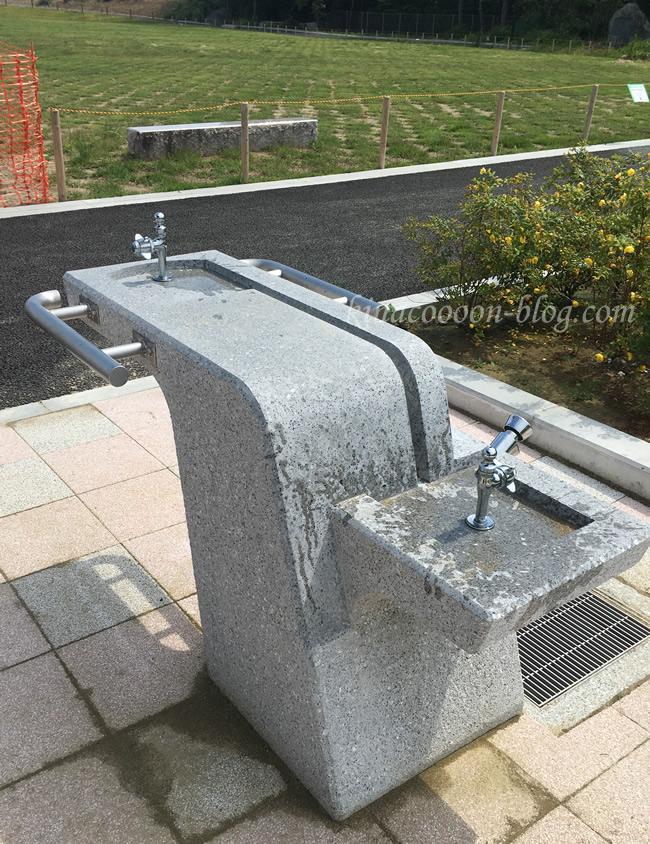 今之浦公園の水飲み場