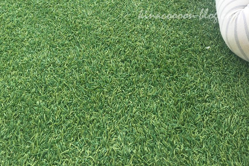 今之浦公園の人工芝の様子